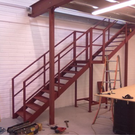 Collins Metal Fabrication Staircase 501 metal Staircase